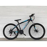 Спортивный горный ВЕЛОСИПЕД 26 дюймов TopRider черный. Крутой спортивный горный велосипед 26 дюймов ТОПРАЙДЕР