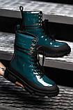 🔥 Ботинки женские демисезонные Both X Lost General высокие темно зеленые Бот лост, фото 9