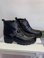 Жіночі черевики шкіряні