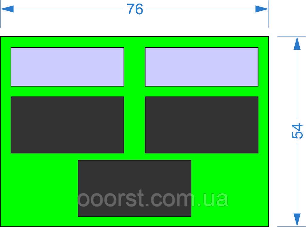 Электронное табло для футбола 760х540