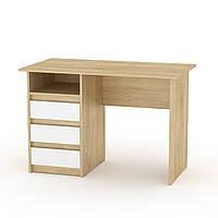 Стол письменный Декан с тумбой и ящиками для студента и школьника 110х60х74 см (Компанит)
