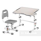 Комплект парта + стул трансформеры Vivo II Grey FUNDESK, фото 2