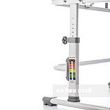 Комплект парта + стул трансформеры Vivo II Grey FUNDESK, фото 5