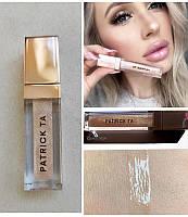 Блиск для губ Patrick Ta Major Glow Lip Shine відтінок she's Expensive