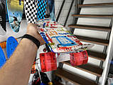 Скейт Penny Board, із широкими світлими колесами Пенні борд, дитячий , від 4 років, Абстракція, фото 4