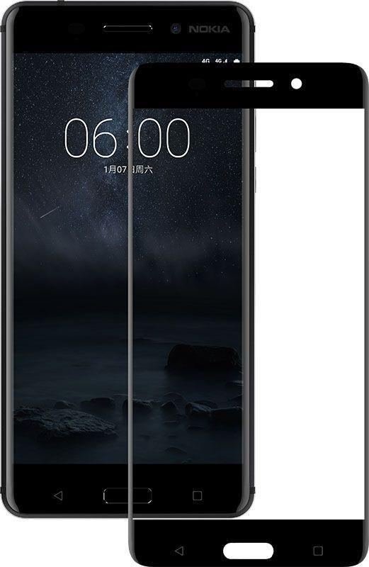 Защитное стекло Mocolo 2.5D Full Cover Tempered Glass Nokia 6 Black