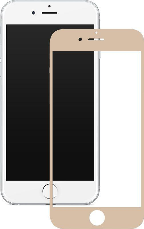 Защитное стекло Mocolo 2.5D Full Cover Tempered Glass Apple iPhone 6 Plus, iPhone 6S Plus Silk Gold