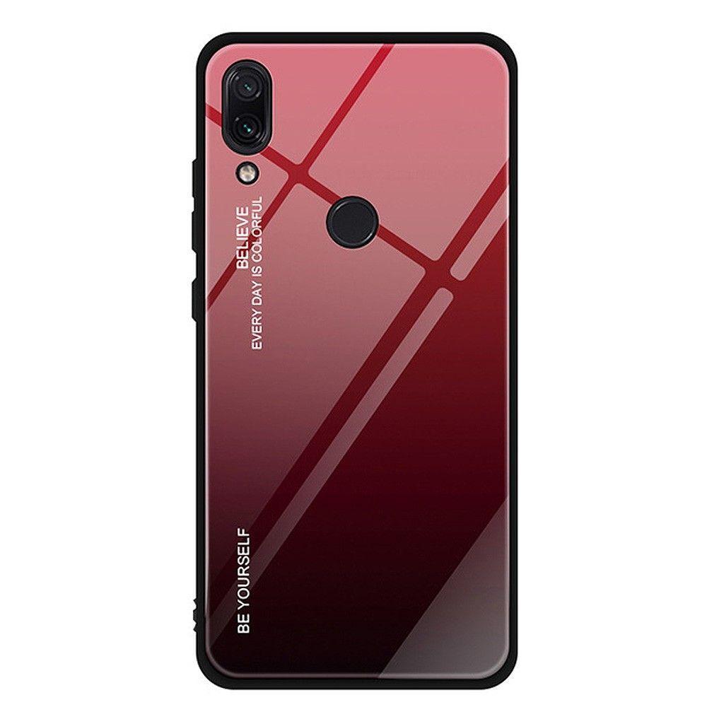 Чехол BeCover Gradient Glass Xiaomi Redmi 7 Red-Black(703596)