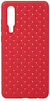 Чехол BeCover TPU Leather Case Huawei P30 Red (703505)