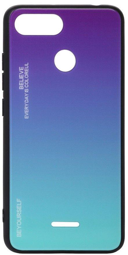 Чехол BeCover Gradient Glass Xiaomi Redmi 6A Purple-Blue (703588)