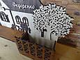 """Ключница """"Большой дом с деревом"""" и Фамилия семьи   Ключница для вашего дома 44*30 см., фото 7"""