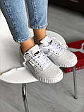 Женские кроссовки Puma Cali White, фото 7
