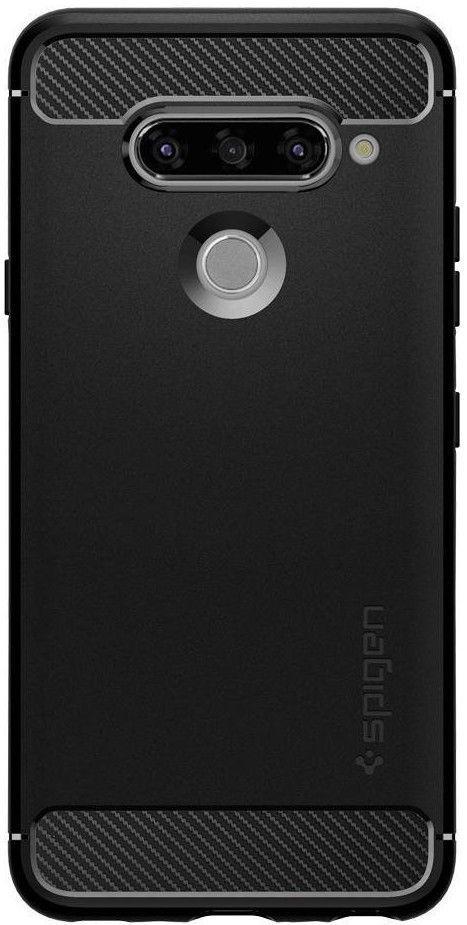 Чехол для телефона Spigen Rugged Armor LG V40 ThinQ Black (A31CS25041)