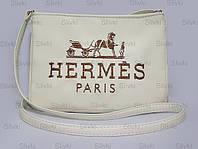 """СУМОЧКА """"МINI"""" - №238 """"Hermes """"- белая"""