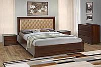 Кровать Аризона с подъемным механизмом 160 х 200 см орех темный (Беатрис 03)