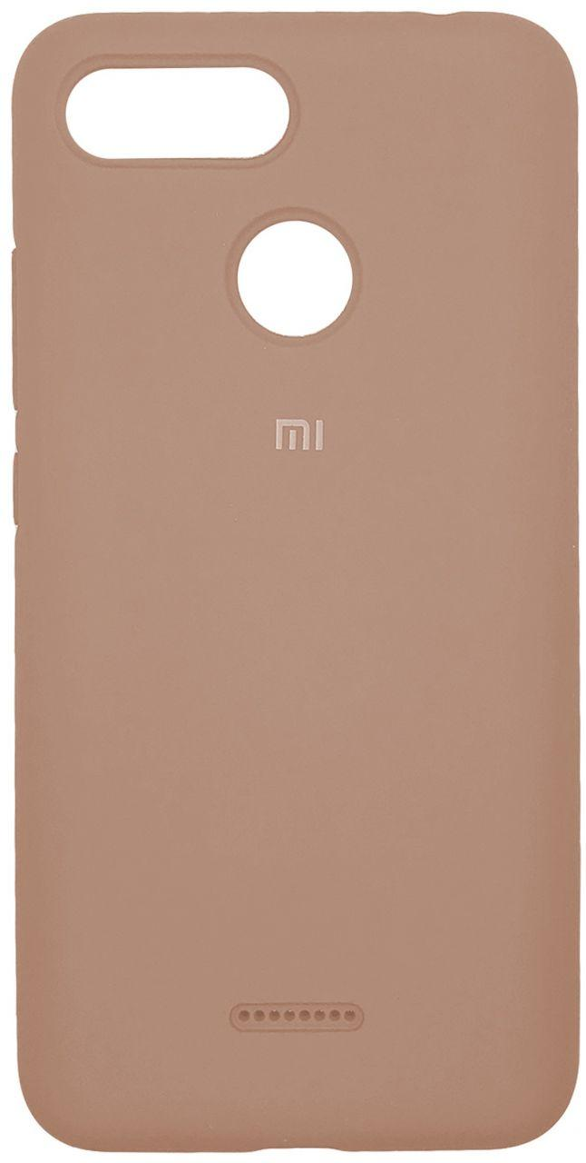Чехол 1TOUCH Silicone Cover Xiaomi Redmi 6 Pink Sand