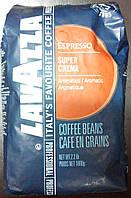 Lavazza Кофе в зернах, Super Crema 1кг. Италия