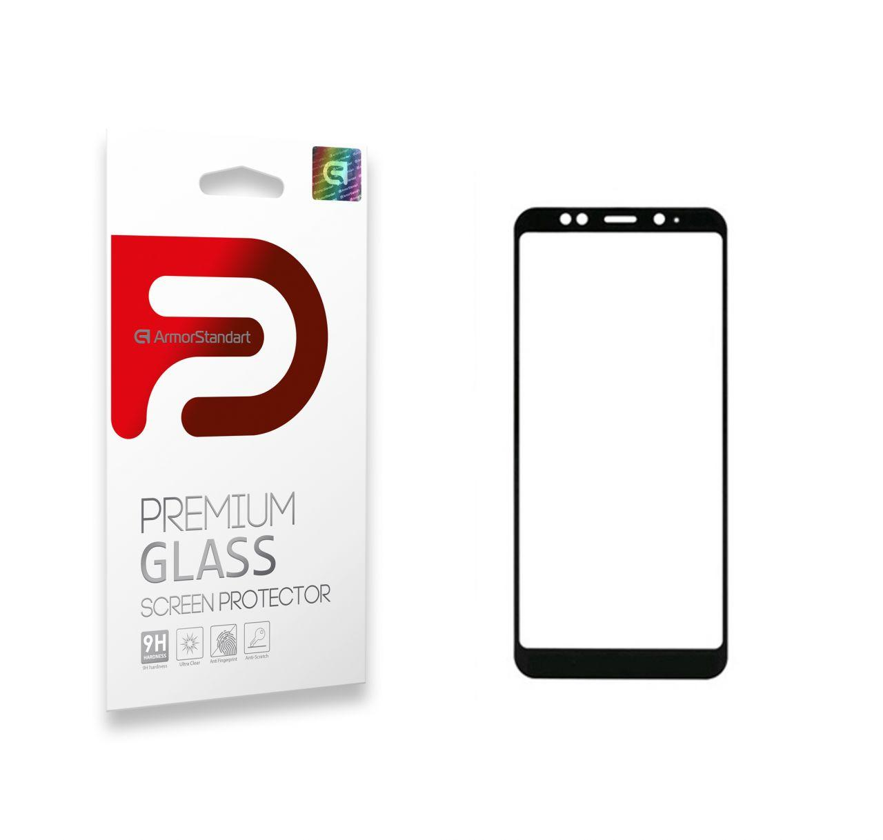 Защитное стекло ArmorStandart Full Cover Full Glue Xiaomi Mi 6X, Mi A2 Black (ARM52482-GFG-BK)