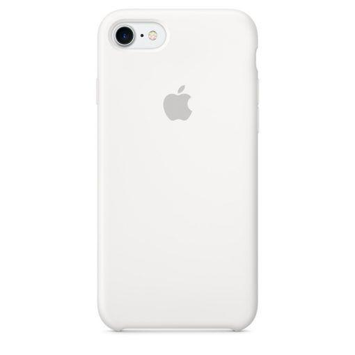 Чехол Apple Silicone Case iPhone SE, iPhone 5S, iPhone 5 White_High Copy