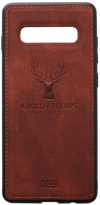 Чехол TOTO Deer Shell Samsung G973 Galaxy S10 Brown (F_93703)