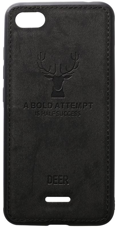 Чехол TOTO Deer Shell Xiaomi Redmi 6A Black (F_93731)