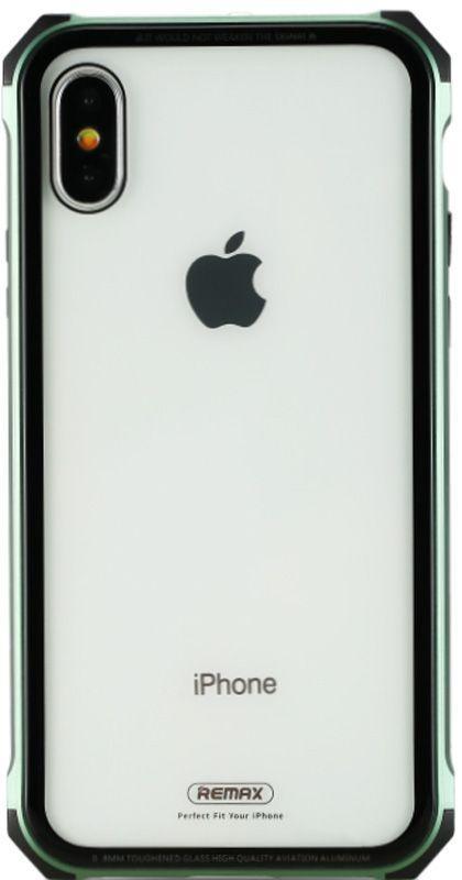 Чехол Remax Kooble Series Apple iPhone X Green
