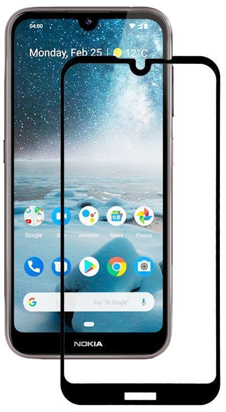 Защитное стекло BeCover Nokia 4.2 Black (703896)