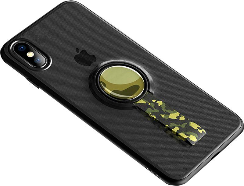 Чехол Rock MOC Protective Case Apple iPhone X Trans-Black