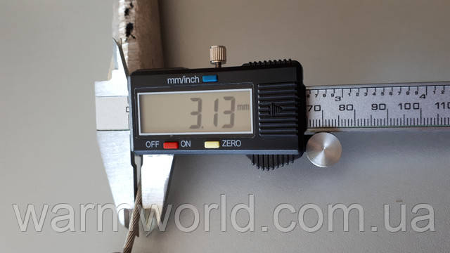 Толщина тросика 3 мм