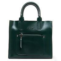 Женская кожаная сумка  8634 green.Купить сумки оптом и в розницу по выгодной цене в Украине, фото 1