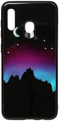 Чехол TOTO Night Light Print Glass Samsung A205 Galaxy A20, A305 Galaxy A30 Young Moon (F_96175)