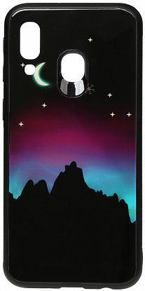 Чехол TOTO Night Light Print Glass Samsung A405 Galaxy A40 Young Moon (F_96176)