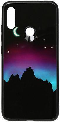 Чехол TOTO Night Light Print Glass Xiaomi Redmi Note 7 Young Moon (F_96181)