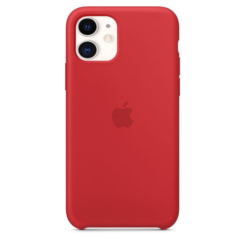 Чехол Apple Silicone Case iPhone 11 Red_High Copy