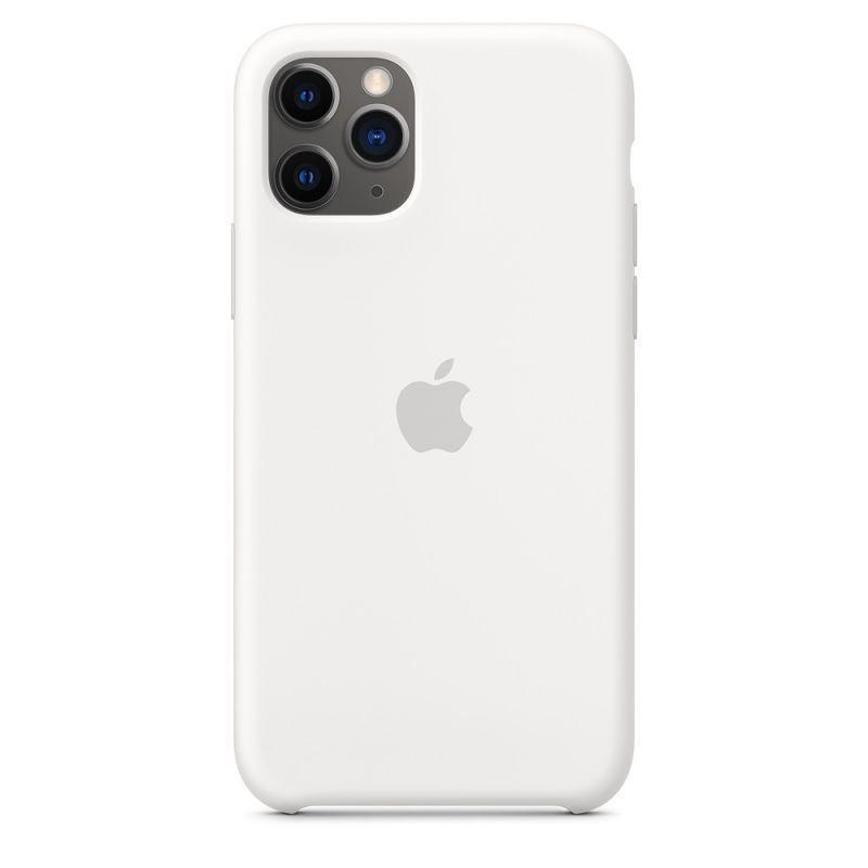 Чехол Apple Silicone Case iPhone 11 Pro Max White_High Copy