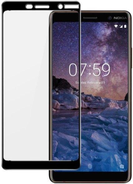 Защитное стекло ArmorStandart Full Screen Full Glue Nokia 7 Plus Black (ARM54219-GFG-BK)