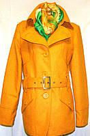 Шерстяное женское полу пальто VILA (M- 46 р), фото 1