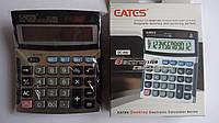 Настольный калькулятор Eates DC 860. Универсальный калькулятор большой 12ти разрядный.Настільний калькулятор