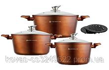 Набор посуды Edenberg  Honey Gold - 8 предметов