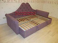 """Дизайнерская двуспальная кровать """"Лаура"""" по эскизу заказчика"""