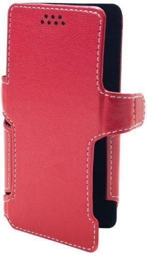 Чехол Status Book Series Asus ZenFone Go ZB452KG Red Matte