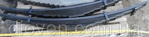Рессора передн. МАЗ 11 лист. L-1642 мм МАЗ 500 (пр-во Чусовая) (Арт. 500-2902012-Б2)