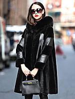 Женская расклешенная шуба, модная дубленка  распродажа