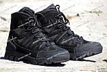 Якісні черевики тактичні Extreme-black. Нубук+кордура. Розмір: 40-45, фото 2