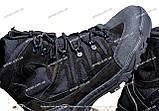 Якісні черевики тактичні Extreme-black. Нубук+кордура. Розмір: 40-45, фото 7