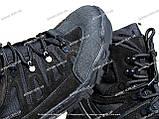 Якісні черевики тактичні Extreme-black. Нубук+кордура. Розмір: 40-45, фото 8