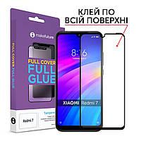 Защитное стекло MakeFuture Full Cover Full Glue Xiaomi Redmi 7 Black (MGF-XR7)