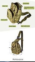 Тактическая военная сумка рюкзак OXFORD 600D Olive