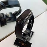 Xiaomi Mi Band m4 спортивний браслет фітнес трекер smart wath Чорні, фото 3