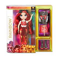 Кукла Rainbow High - Руби с аксессуарами Ruby Anderson, фото 1